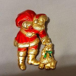 Rare vintage Santa pin/brooch